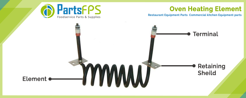 Oven Heating Element | How do you fix a broken heating element in an oven? | Oven Parts and Accessories -PartsFPS