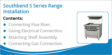 southbend s series range installation guide