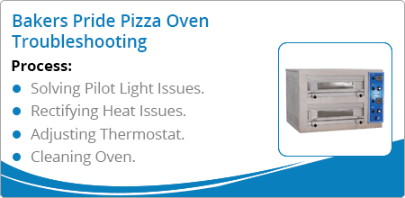 bakers pride pizza oven troubleshooting guide