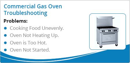 gas oven troubleshooting