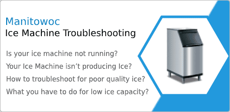 how to troubleshoot manitowoc ice machine