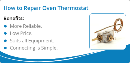 repair oven thermostat