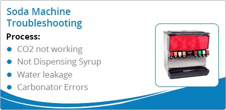 soda machine troubleshooting guide