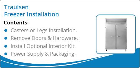 traulsen freezer installation guide