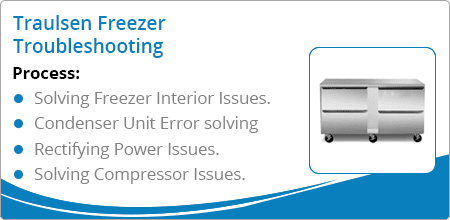 traulsen Freezer Troubleshooting guide