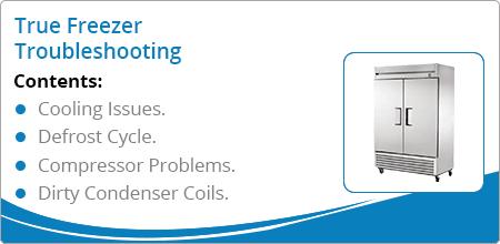 true freezer troubleshooting guide