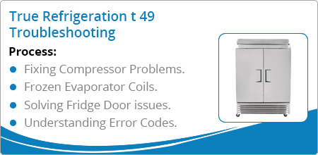 true refrigeration t49 troubleshooting guide