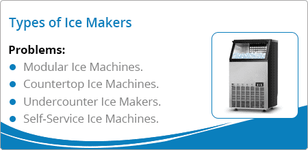 types of ice machines
