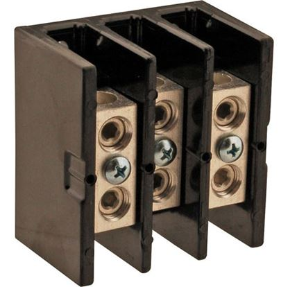 Picture of  125amp Terminal Block for Frymaster Part# 807-0065