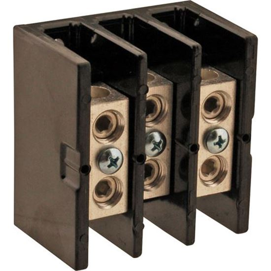 Picture of  125amp Terminal Block for Wells Part# 51276