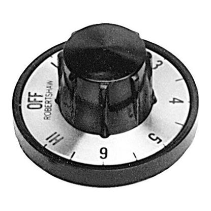 Picture of  Black Knob for Seco Part# 0177950