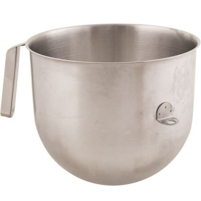 Picture of  Bowl,mixing(8qt,s/s,nsf) for Kitchen Aid Part# KSMC8QBOWL