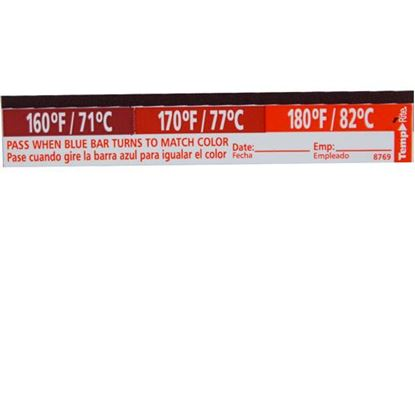 Picture of  Label,temperature for Taylor Thermometer Part# 8769