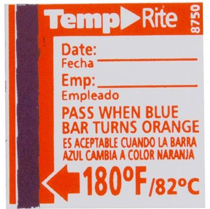 Picture of  Label,temperature(180f) for Taylor Thermometer Part# 8750