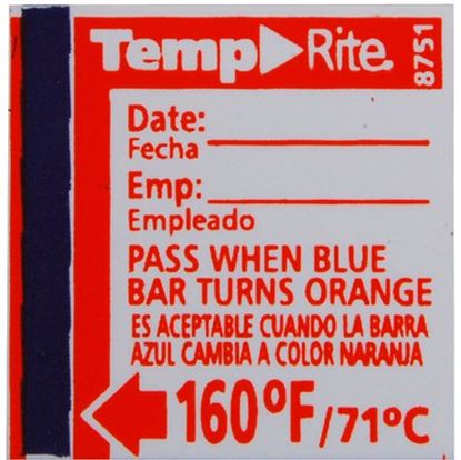 Picture of  Label,temperature(160f) for Taylor Thermometer Part# 8751