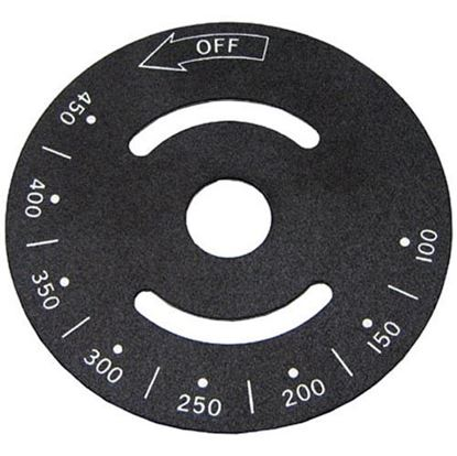 Picture of  Dial Plate for Vulcan Hart Part# 00-810069