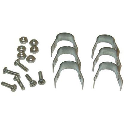 Picture of  Bulb Clamps (pkg Of 6) for Ge/hobart Part# XNC2X40/347291-1