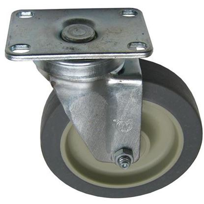 Picture of  Plate Mount Caster for DCS (Dynamic Cooking Systems) Part# 18022
