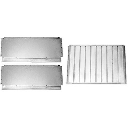 Picture of  Set Of 3 Deflectors for Blodgett Part# 04644
