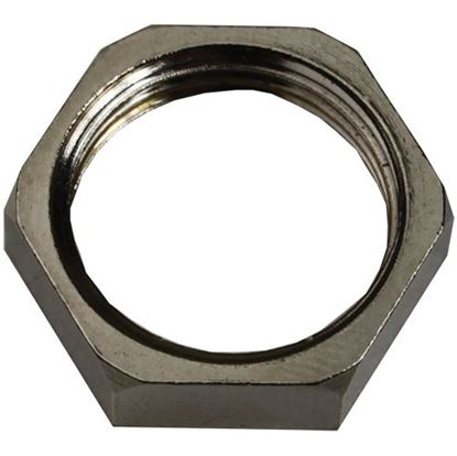 Picture of  Locknut, Chrome for Cadco Part# 9021