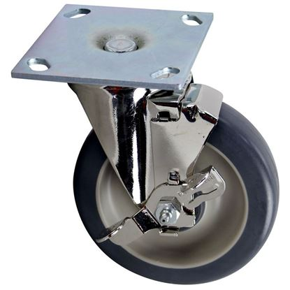 Picture of  Caster W/brake for FWE (Food Warming Eq) Part# CSTR 5 SB-2