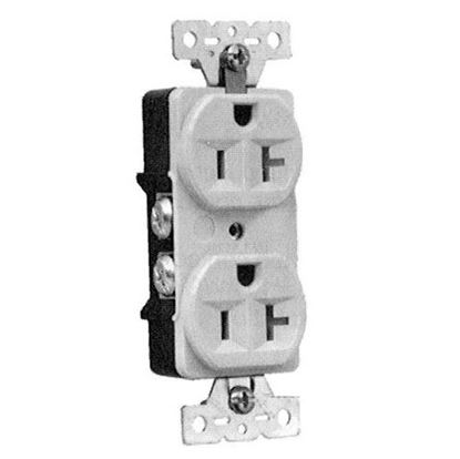 Picture of  Duplex Receptacle for Bussmann Part# AH5362BK