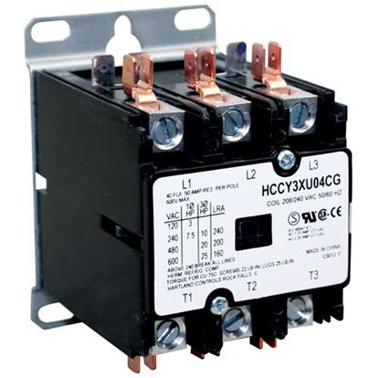 Picture of  Contactor for Hubbell Part# C25DNF340B