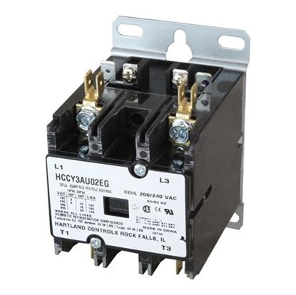Picture of  Contactor for FWE (Food Warming Eq) Part# CONTACT-2POLE-208-240
