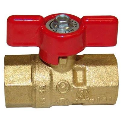 Picture of  Gas Ball Valve for Lang Part# 2V-70402-07