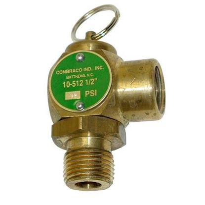 Picture of  Pressure Relief for Conbraco Part# 10-512-B12