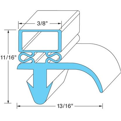 Picture of  Door Gasket for Silver King Part# 40761
