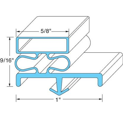 Picture of  Door Gasket for Continental Refrigeration Part# 2-705