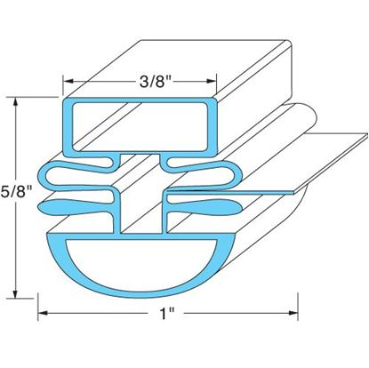 Picture of  Door Gasket for Turbo Air Part# 30223U0200