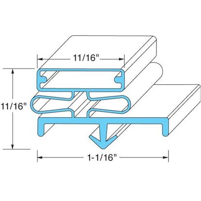 Picture of  Door Gasket for Masterbilt Part# 37-00502