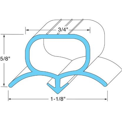 Picture of  Door Gasket for Silver King Part# 10310-12