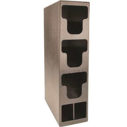 Picture of Organizer,Lid(W/Strw Hld,3Sect for Diversified Metal Products Part# TLO-3BT