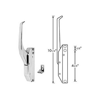 Picture of Latch (W/Strike/Crvd Hndl) for Standard Keil Part# 2830-4210-1110