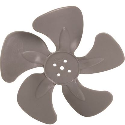 "Picture of Blade,Fan (8"",28 Degree,Plst) for Supermarket Parts Warehouse Part# PFB-8285CW"