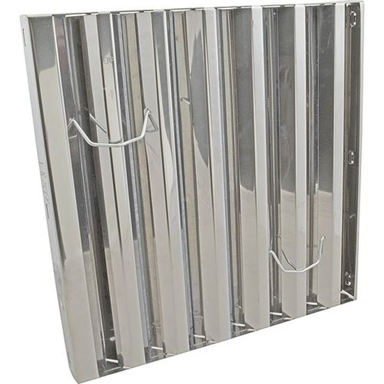 Filter Baffle 18x18 S S Type3 For Component Hardware