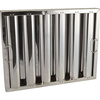 Picture of Filter,Grease(16X20,S/S,Hooks) for Captive Aire Part# HRSS1620