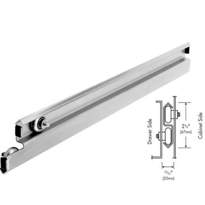 """Picture of Slide, Drawer (22"""", S/S, Pair) for Standard Keil Part# 1452-3022-1251"""