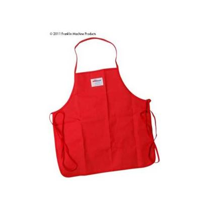 "Picture of Apron (25""L, Poly-Cotton, Red) for Tucker Part# 50250"