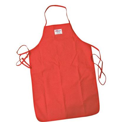 "Picture of Apron (36""L, Polycotton, Red) for Tucker Part# TU501036"
