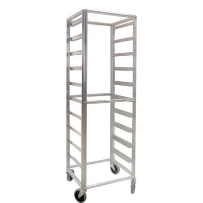 "Picture of Cart,Rack(69""H,20 Adj Runners) for Lockwood Manufacturing Part# LKWRK69-10"