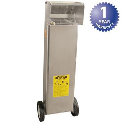 "Picture of Cart,Oil(Shortshuttle,70#,8.5"" for Worcester Industrial Part# SS709"
