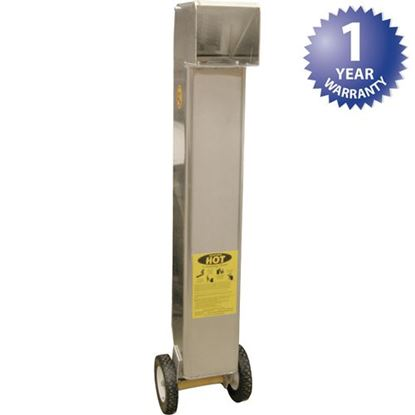 "Picture of Cart,Oil(Shortshuttle,60#,9.8"" for Worcester Industrial Part# SS-611-TL"