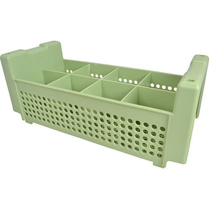 Picture of Basket,Flatware(8-Compartment) for Traex Div Of Menasha Corp Part# TRX52640