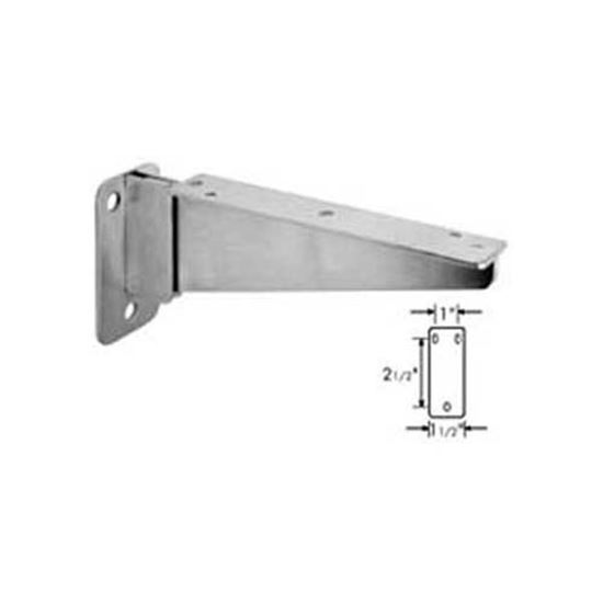 """Picture of Bracket, Folding(S/S, 8-5/8""""L) for Standard Keil Part# 1508-1210-1251"""