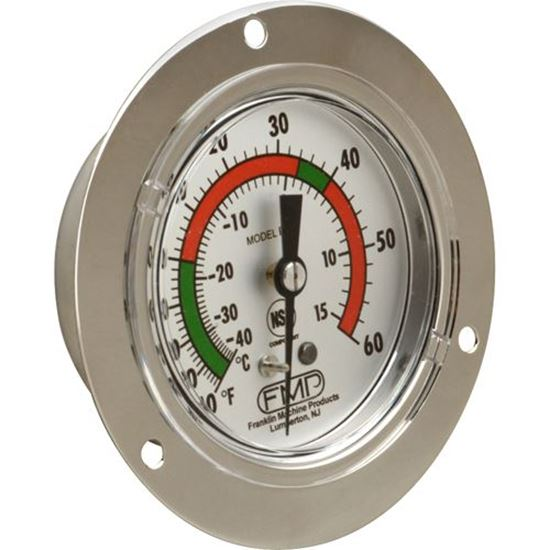 Picture of Thermometer,Flange Mt(-40/60F) for Foster Part# 18102