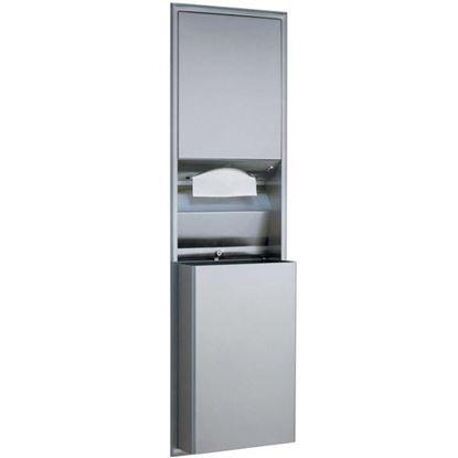 Picture of Dispenser,Towel (W/Waste Rec) for Bradley Part# BRD235-000000